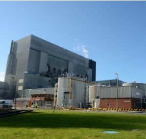 Heysham nuclear power plant in the UK (Photo: EDF Energy)