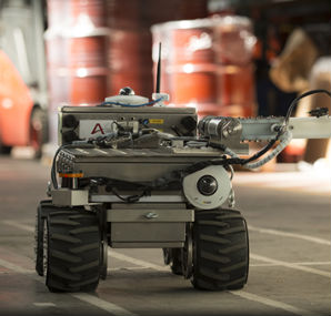 Areva Has Delivered The First Of A New Generation Of Radiation Mapping Robots To The French Atomic Energy Commission Cea