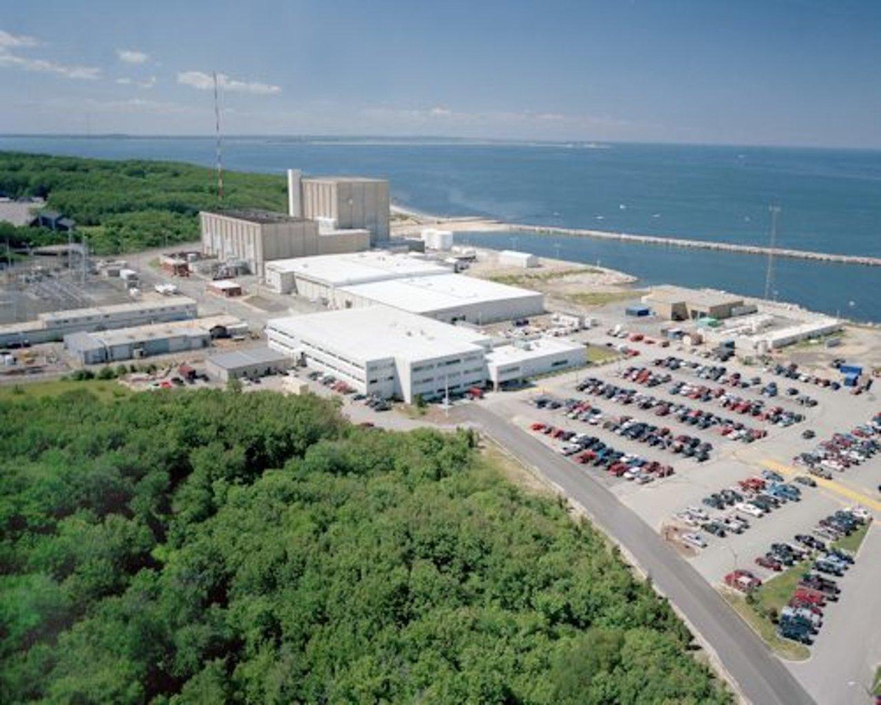 Pilgrim nuclear plant (credit: Entergy)