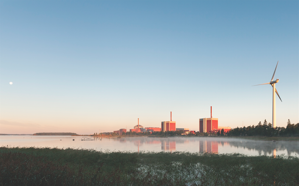 Two BWRs currently in operation at TVO's Olkiuloto nuclear plant in Finland (Photo: TVO)