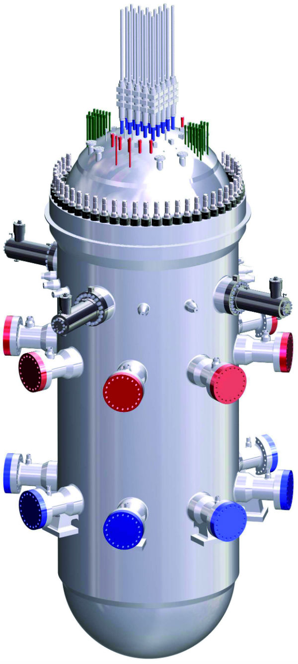 SMART integral reactor (Credit: KAERI)
