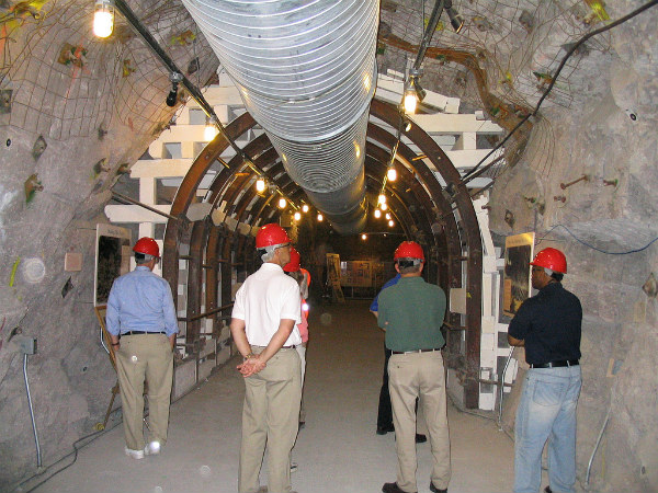 NRC staff visit Yucca Mountain in June 2007