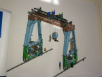 Drawing of Devonport sub disassembly crane built by TM Engineers