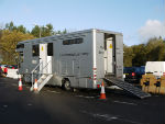 The mobile radioachemistry laboratory has been developed by the UK National Physical Laboratory and Loughborough University, with funding from the UK government and European Commission.