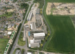 Aerial view of Metalcraft's Chatteris facility