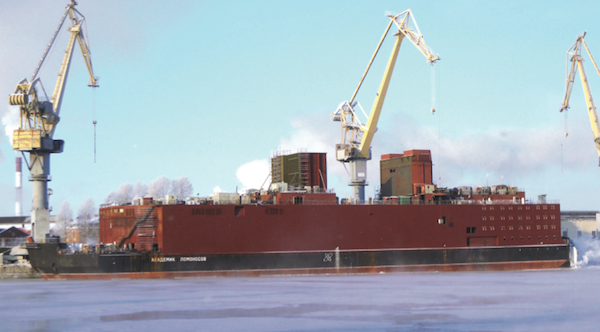 Akademik Lomonosov, the floating NPP