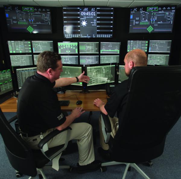 NuScale's SMR control room simulator