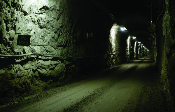The Onkalo underground rock characterisation facility in Olkiluoto, Finland (Credit: Posiva)