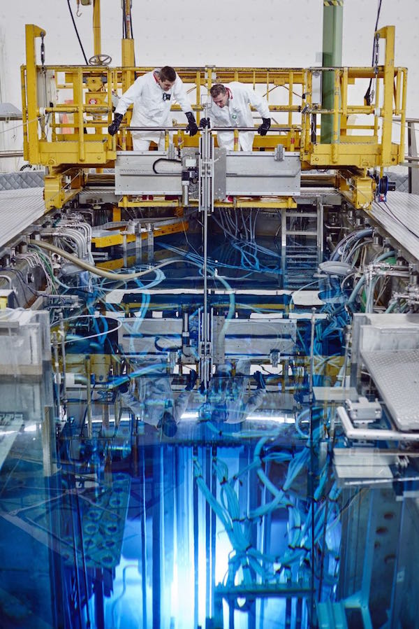 Graphite testing will be carried out in the High Flux Reactor (Credit: NRG)