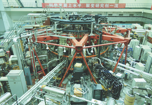 HL-2A while it was being upgraded to HL-2M (Credit: Institute of Plasma Physics)