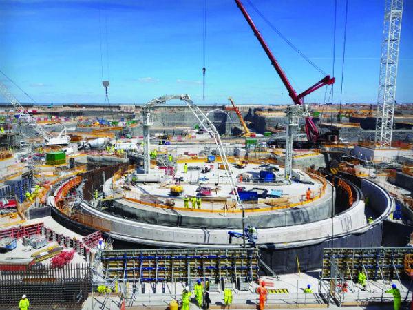 Hinkley Point C construction (Credit: EDF Energy)