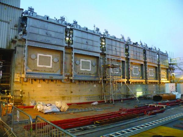 The Pile Fuel Cladding Silo at Sellafield (Photo credit Sellafield Ltd)