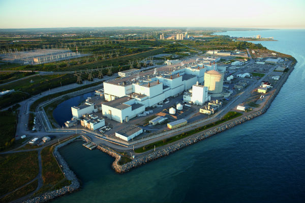 The Darlington nuclear power station (Photo: OPG)