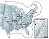 US NPPs and seismic zones